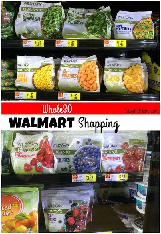 Who knew there were so many Whole30 items at Walmart!? Love this list!