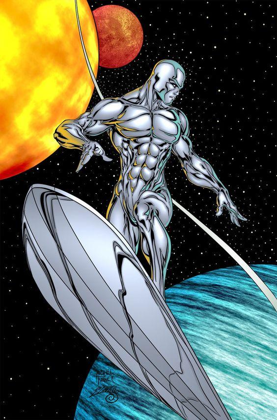 Silver Surfer - Kolor by Mr-Frisky