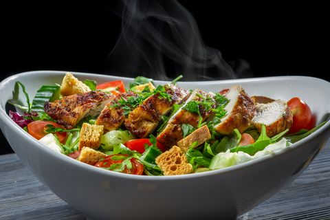 #salad #recipes #chickensalad Chicken salad is one of the most popular dishes ever, especially when you make your own rather than buying the boxed kind. To make this sala...