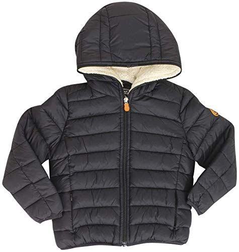 Save The Duck Little//Big Boy/'s Giga Faux Sherpa Hooded Puffer Jacket