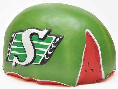 Saskatchewan Roughriders watermelon . Classic