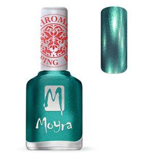 COMING SOON Moyra Stamping Nail Polish- No. 27 (Chrome Green)