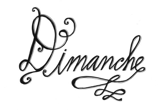 "Lisa Congdon, ""Dimanche"""