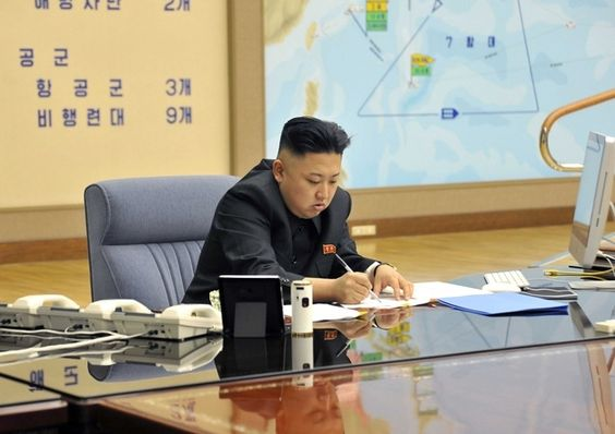 A trade embargo between the U.S. and North Korea doesn't stop Kim from being a Mac guy. Did he get it from China?