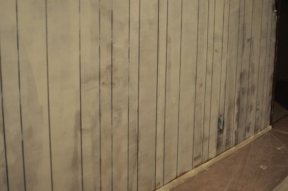 How To Paint Paneling Makeover And Wood Paneling Makeover