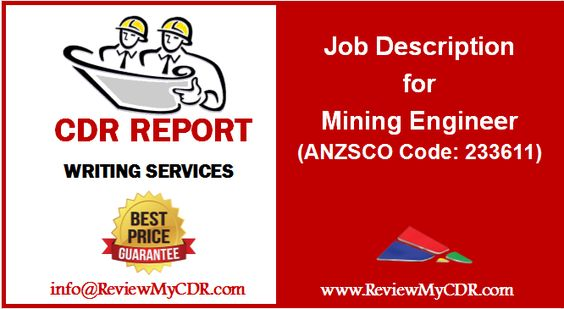 Job Description for Mechanical Engineer (ANZSCO Code 233512 - mechanical engineering job description