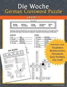 german names crossword puzzles and crossword on pinterest. Black Bedroom Furniture Sets. Home Design Ideas