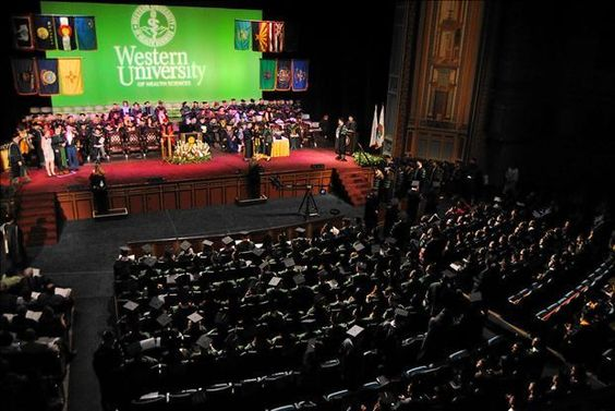 Western University of Health Sciences Spring 2014 Commencement