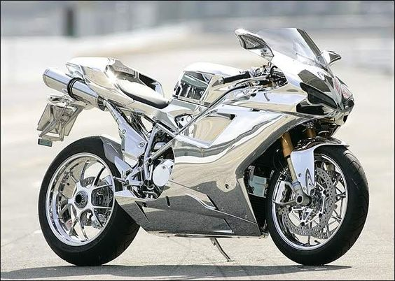 1098s CHROME Ducati custom by Nippon de'Light