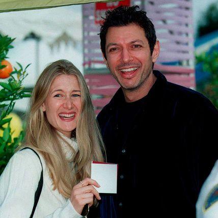 Laura Dern and jeff goldblum
