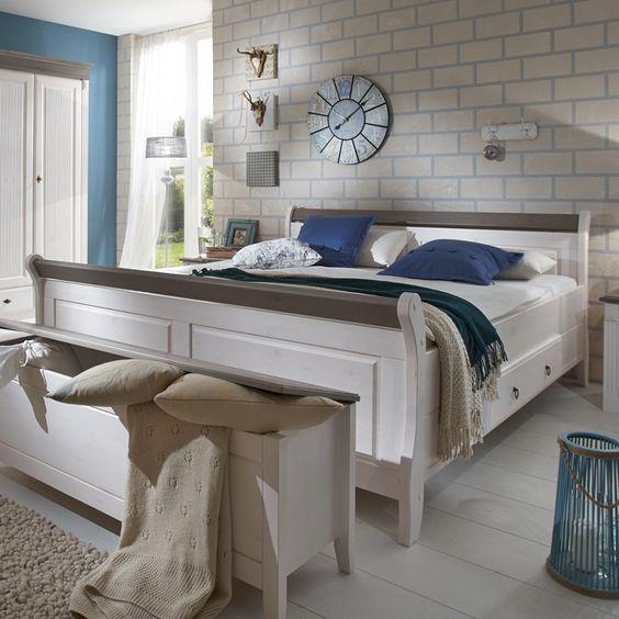 Schlafzimmer komplett Cinderella - Ein Traumhaftes Schlafzimmer in - schlafzimmer kiefer weiß
