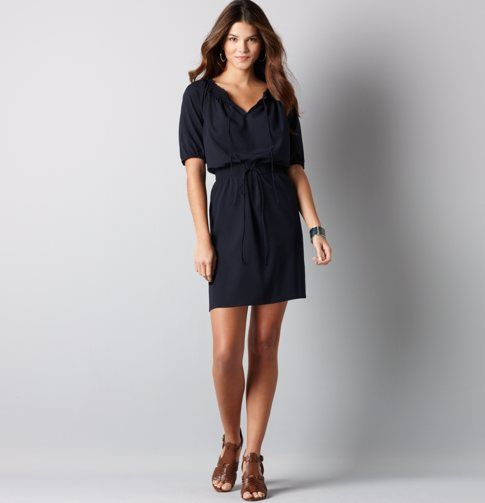 Perfect work dress that can also function on the weekends.