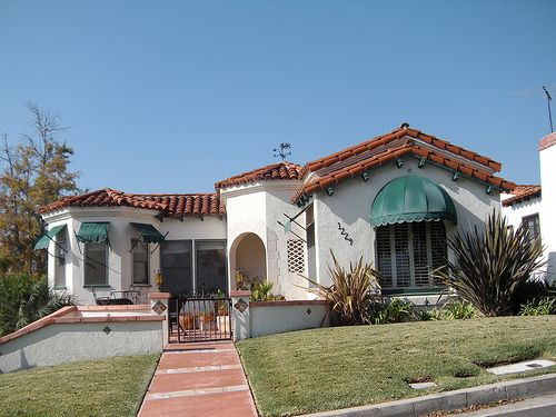Cute Spanish House