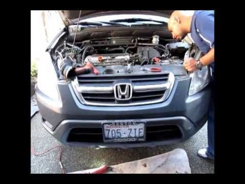 Honda Crv Knock Sensor Replacement Works For Accord And Civic Youtube Honda Crv Honda Honda Element