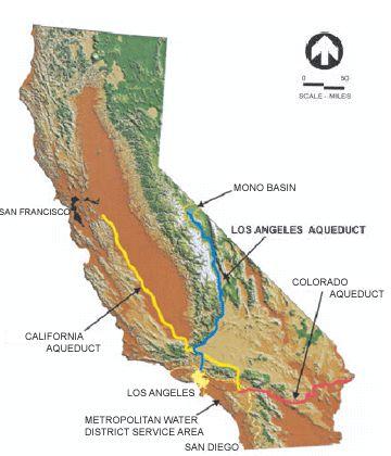 California Aqueduct System Map  Proceedings Of