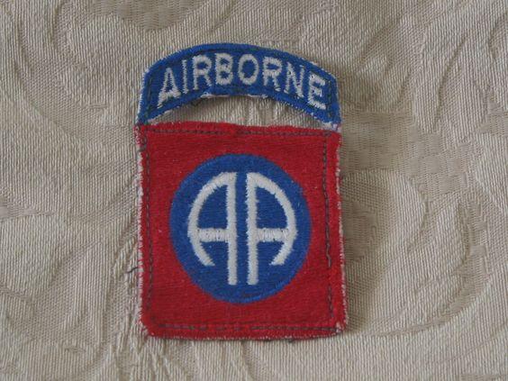 MILITARY PATCH U.S. 82nd Airborne Division Vietnam Armed Forces Shoulder Patch  Junk_581  http://ajunkeeshoppe.blogspot.com/