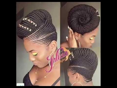 African Braids 2018 Cornrows Marley And Packing Styles Braided Cornrow Hairstyles Cornrow Hairstyles Hair Styles