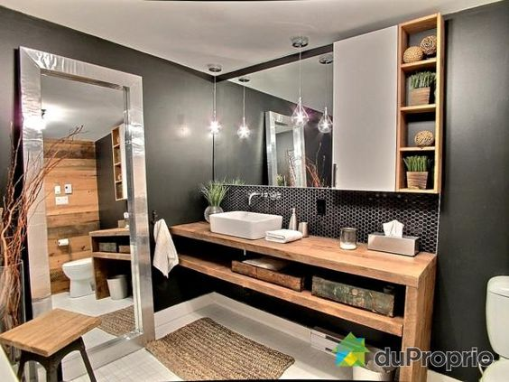 salle de bain de r ve voir rosemont la petite patrie duproprio d co pinterest. Black Bedroom Furniture Sets. Home Design Ideas