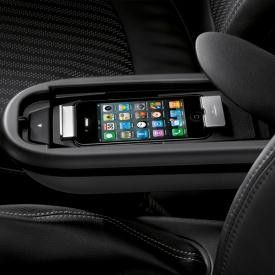 snap in adapter and phone cradle for mini coopers a must have mini cooper car accessories. Black Bedroom Furniture Sets. Home Design Ideas