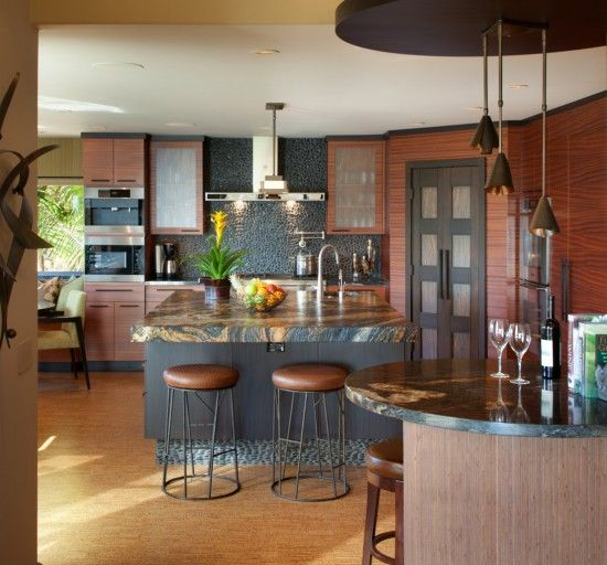 In kitchen countertop materials, granite countertops are popular. Granite is a fashioned option. It combines practicality and durability with a chic look.