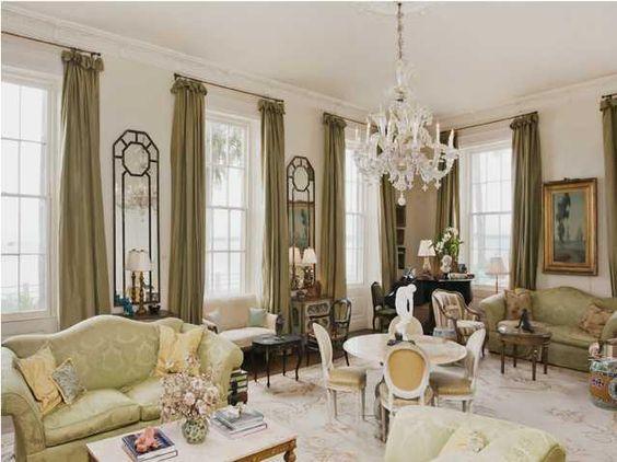 Charleston Style Home Decorating Living Room Pinterest