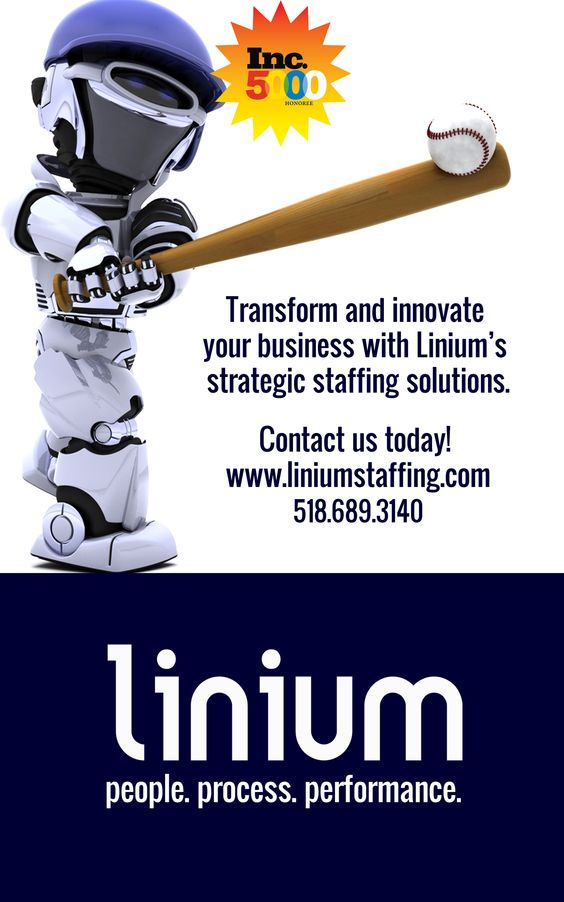 Let Linium hit it out of the park the next time you need to hire!