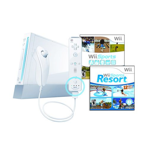 (NIOB) Nintendo Wii with Wii Sports Resort (Bundle) . Starting at $40 on Tophatter.com!