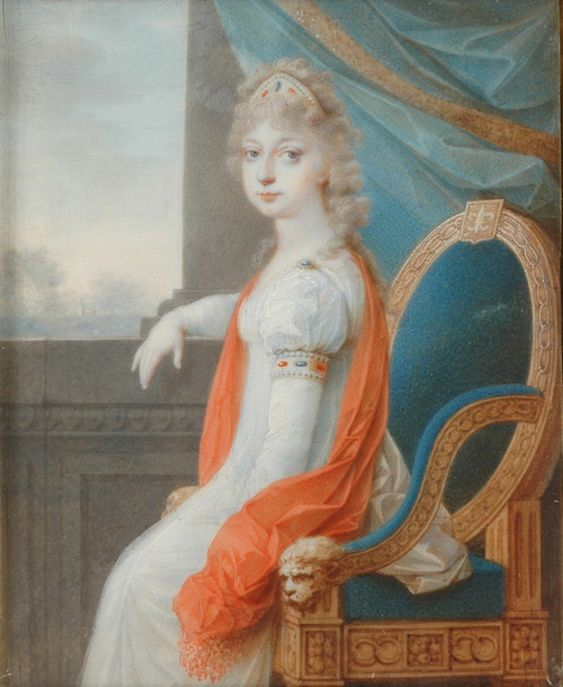 Madame Royale à Vienne, par Johann Maria Monsorno (1799)   Maria  antonietta, Arte, Artisti