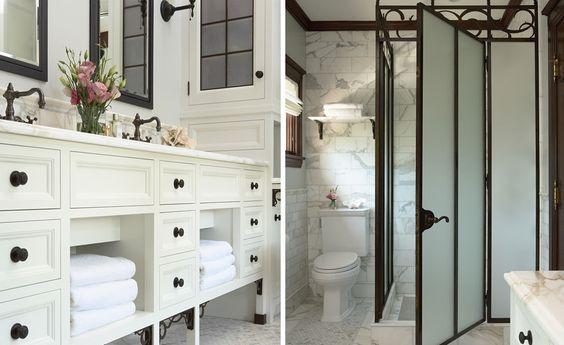 lovely white bath