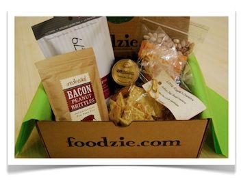 delicious food arriving at your door. Yum!
