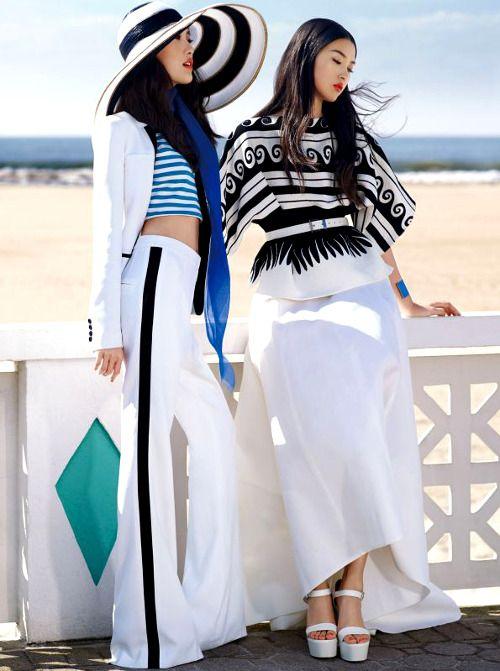 Tian Yi & Shu Pei Qin by KT Auleta for Vogue China January 2014