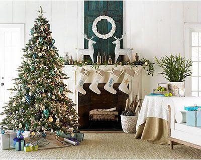 beach house christmas - Beach Style Christmas Decorations