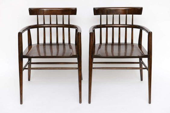 Pair of Paul McCobb Captain's Chairs 2