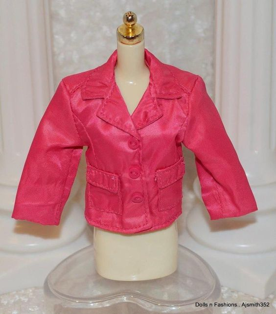 FR Dynamite Girls Doll London Calling Collection Pink Waist Style Jacket Only
