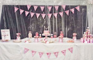 Sweet table anniversaire