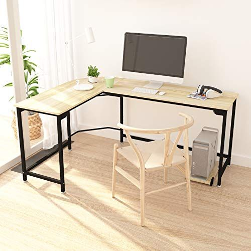 Hago Modern L Shaped Desk Corner Computer Desk Home Offic Https Www Amazon Com Dp B07b49 Modern L Shaped Desk L Shaped Corner Desk Computer Desks For Home