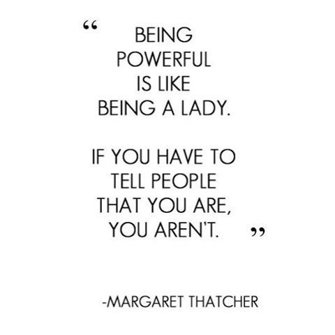 Be A Lady.  #lovethis #truth