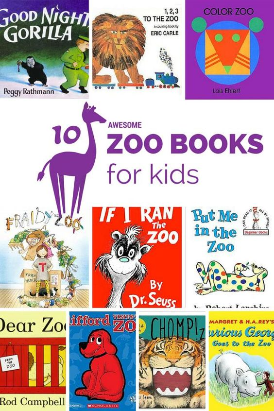 10 Awesome Zoo Book. books about zoos are perfect for young children to read before or after visits to the zoo compiled by Mommy University at www.MommyUniversityNJ.com