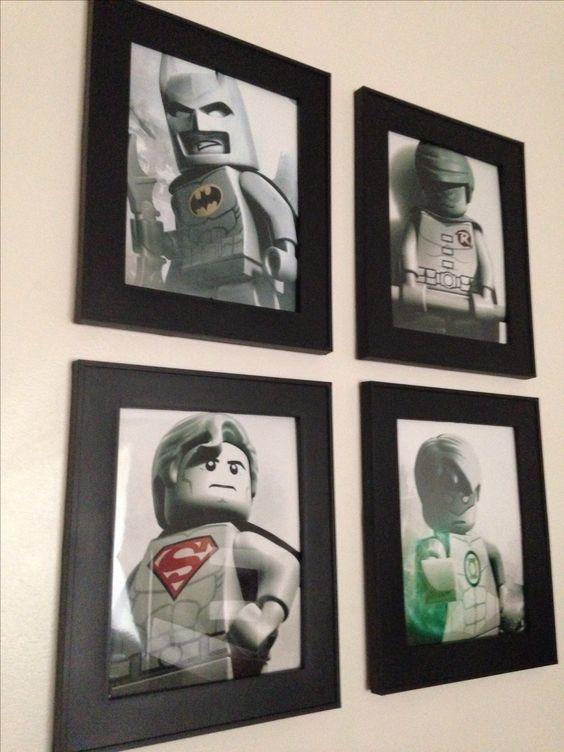 Lego room art