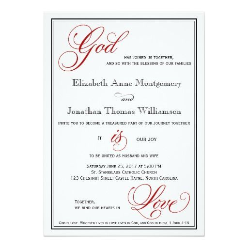 How To Create Christian Wedding Invitations Prepossessing Layout