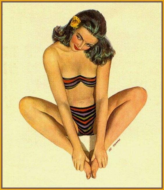 Al Moore   Pin-Up girl artist