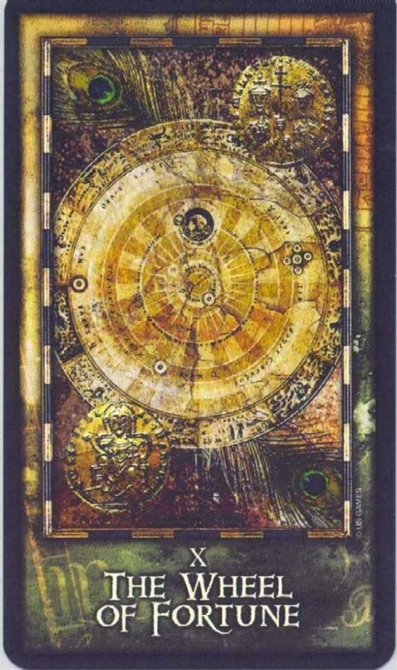 Thoth Fortune Tarot Card Tutorial: Wheel Of Fortune#Repin By:Pinterest++ For