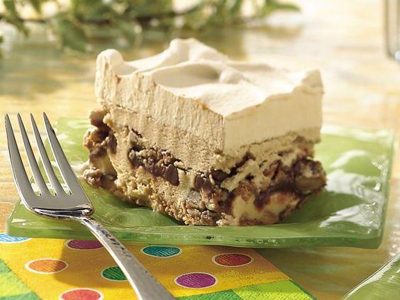 Dulce De Leche-Mocha Ice Cream Dessert: Cream Cake, Frozen Treats, Sweet Treats, Frozen Desserts, Ice Cream Desserts, Desserts Sweet, Caramel