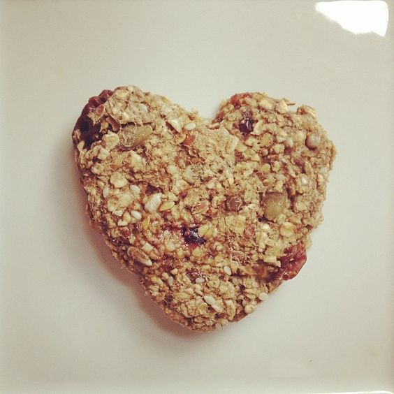 """Healthy Heart"" protein cookie; omega 3/6/9-packed seeds, dried unsweetened berries and organic raw hemp protein #healthysnack #protein #notsonaughty #snacktime"