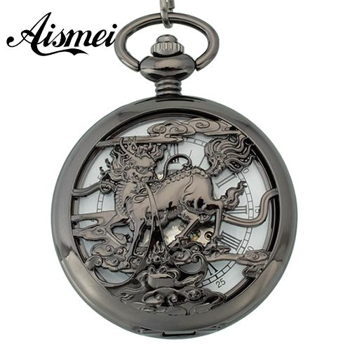 $20.99 (Buy here: https://alitems.com/g/1e8d114494ebda23ff8b16525dc3e8/?i=5&ulp=https%3A%2F%2Fwww.aliexpress.com%2Fitem%2FSteampunk-Watch-Skeleton-Golden-Luxury-Male-Clock-Mechanical-Copper-Open-Face-Retro-Vintage-Gift-Pendant-Pocket%2F32455698035.html ) Steampunk Mechanical Watches Skeleton Black Luxury Male Clock Copper Open Face Vintage Gift proud animals Pendant Pocket Watch for just $20.99