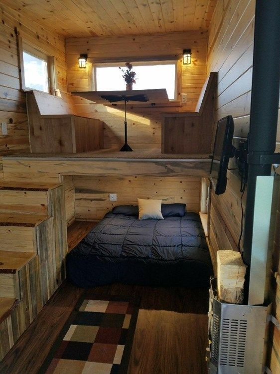 Genex Genesis Tiny House On Wheels For Sale On The Tiny House Marketplace The Genesis Is Our P Tiny House Interior Tiny House Decor Tiny House Interior Design