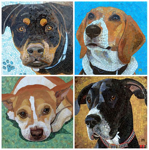 Stained Glass Mosaic Pet Portrait with Donna Van Hooser - October 22-23, 2016