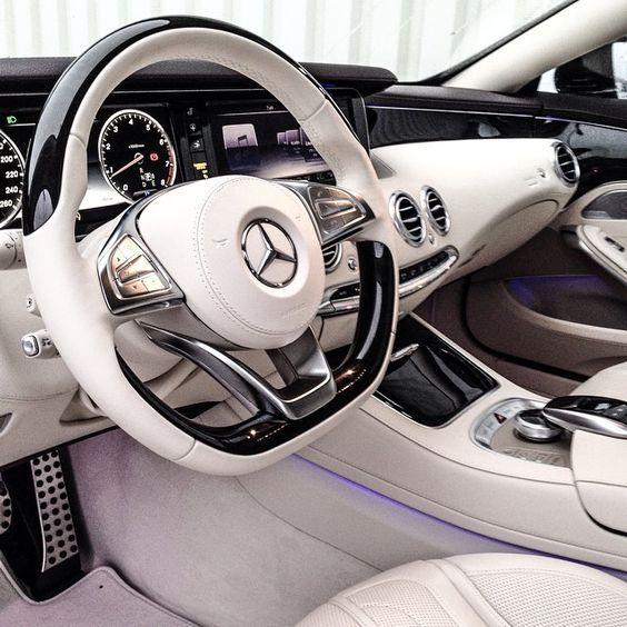 Mercedes Benz S63 Amg Interior Innenausstattung Dengan Gambar