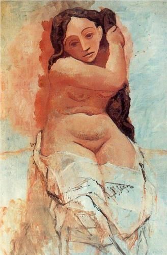 The toilette - Pablo Picasso - WikiArt.org