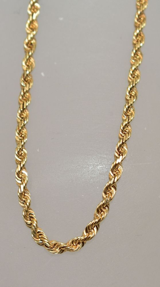 """18k solid yellow gold Singapore chain 16/""""//18/""""//20/""""//22/""""//24/"""" 2mm"""